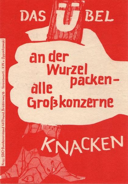 SDAJ-Sticker (1971)