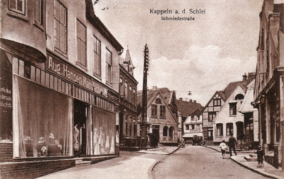 Kappeln - Schmiedestraße (20er-Jahre)