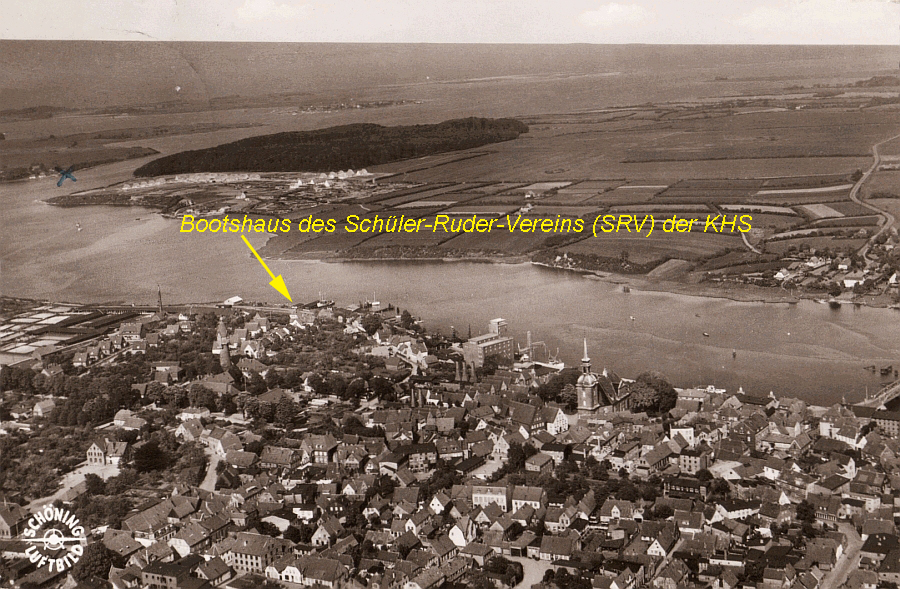 SRV Kappeln - Bootshaus 1959