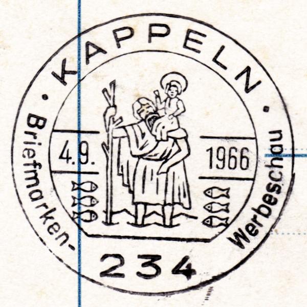 Sonderstempel 1966