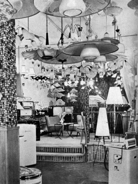 Kappeln - Elektrohaus Walberg (Ende der 50-er Jahre)