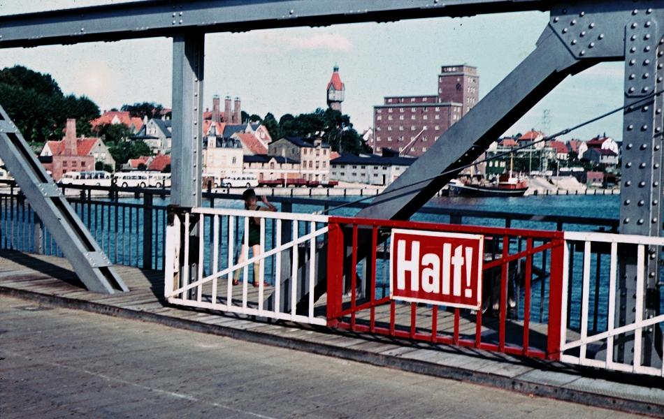 Brückenschranke - Foto: Walter Stöckel (frühe 60-Jahre)