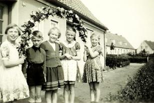 Kappeln - Kindergilde um 1955