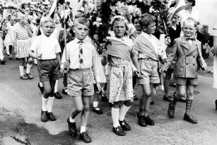 Kappeln - Kindergilde 1956