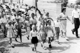 Kappeln - Kindergilde 1957