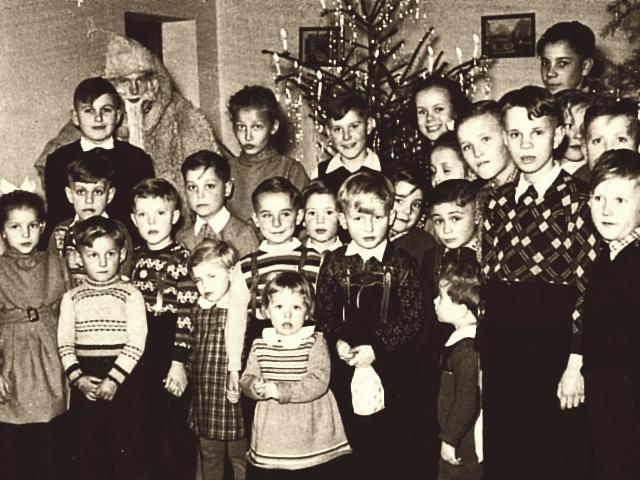 Kappeln - Weihnachtsfeier in den Fünfzigern