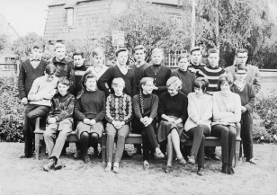 Klaus-Harms-Schule (1964/65) - Untertertia b