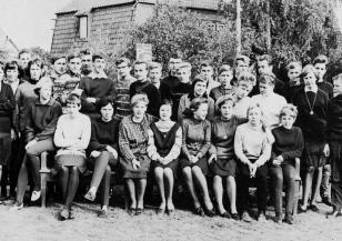 Klaus-Harms-Schule (1964/65) - Obertertia s
