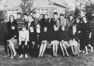 Klaus-Harms-Schule (1964/65) - Untersekunda s