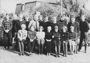 Klaus-Harms-Schule (1964/65) - Obersekunda