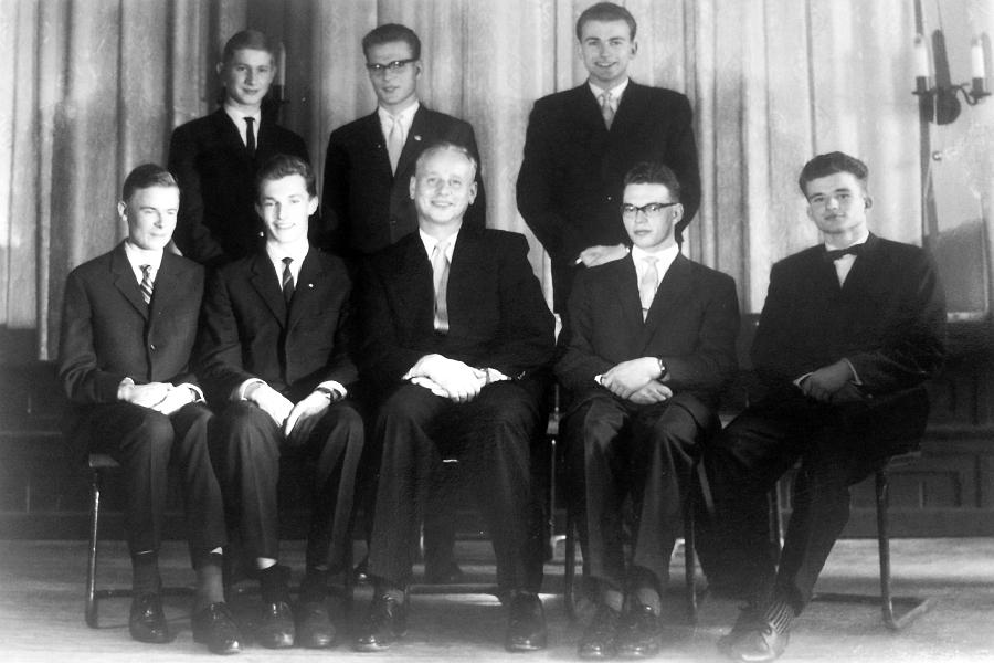 Klaus-Harms-Schule - OIm - Abitur 1961 (Foto von Klaus-Detlef Schnoor)