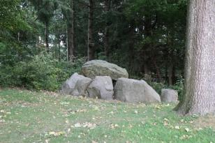 Großsteingrab von Missunde - Foto: Holger Petersen (20.09.2018)