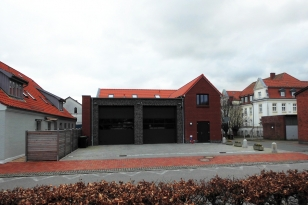 Kappeln - Feuerwehrgerätehaus - Foto: Michaela Fiering (01.03.2020)