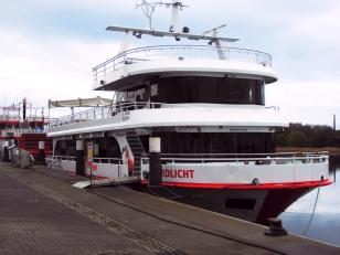 Kappeln - Ausflugsschiff NORDLICHT - Foto: Michaela Fiering (01.05.2020)