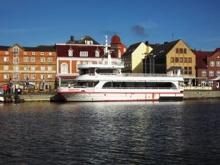 Kappeln - Ausflugsschiff NORDLICHT - Foto: Michaela Fiering (04.05.2020)