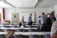 Klaus-Harms-Schule - Raum 11 - Abi '69 - Klassentreffen 2014 - Foto: Holger Detlefsen