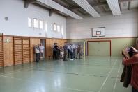 Klaus-Harms-Schule - Turnhalle - Abi '69 - Klassentreffen 2014 - Foto: Holger Detlefsen