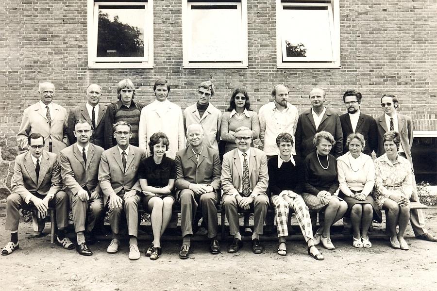 Klaus-Harms-Schule - Kollegium Schuljahr 1972/73