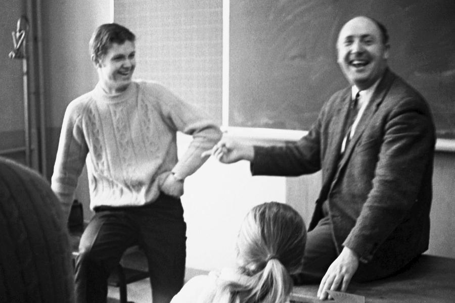 Klaus-Harms-Schule - Peter Oesterling - Foto: Manfred Rakoschek (1969)