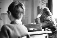 Klaus-Harms-Schule - Studienrat Peter Oesterling (1968) - Foto: Manfred Rakoschek