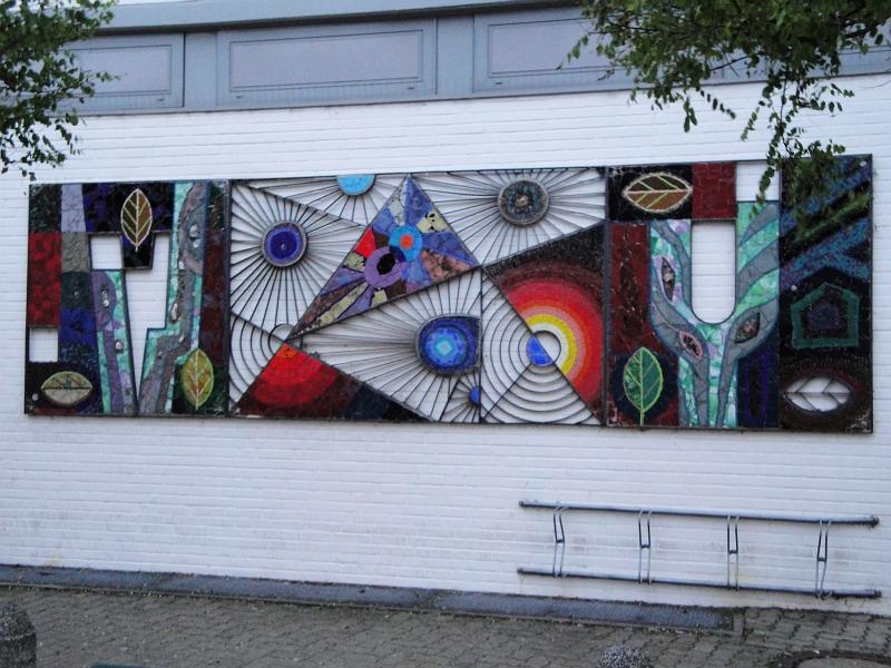 Kappeln - Bettermann-Mosaik an der Nospa - Foto: Michaela Bielke (2012)