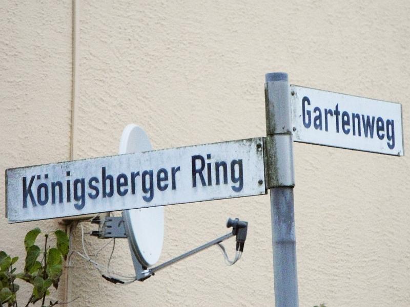 Kappeln - Königsberger Ring/Gartenweg - Foto: Michaela Bielke (2012)