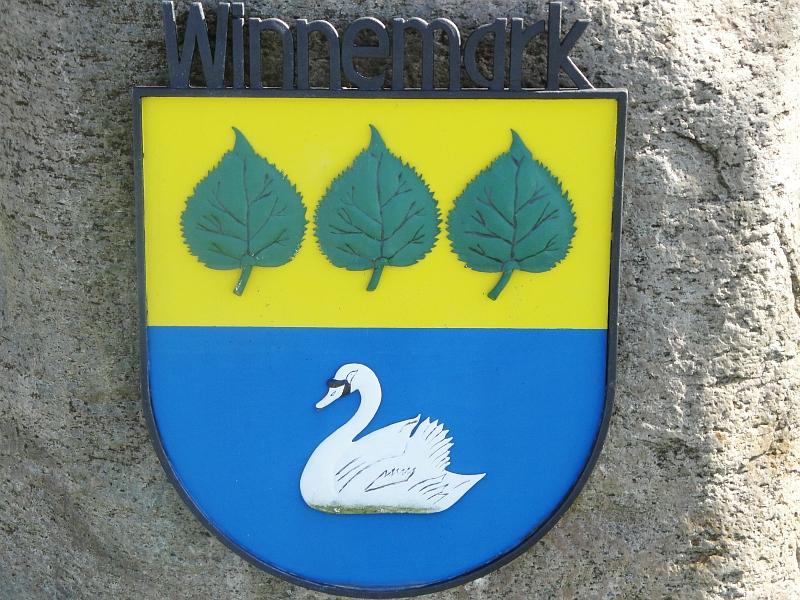 Winnemark - Wappen  - Foto: Michaela Bielke (2013)
