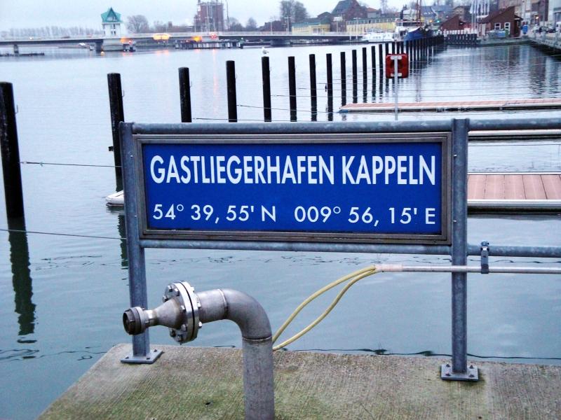 Kappeln - Gastliegerhafen - Foto: Michaela Bielke (01.02.13)