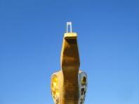 Kappeln - Gorch-Fock-Galionsfigur - Foto: Michaela Bielke (30.11.2012)