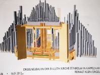 Kappeln - Orgelneubau - Foto: Michaela Bielke (2013)