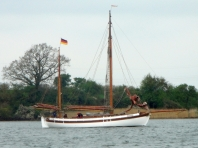 Kappeln - Museumsschiff - Foto: Michaela Bielke (9. Mai 2013)