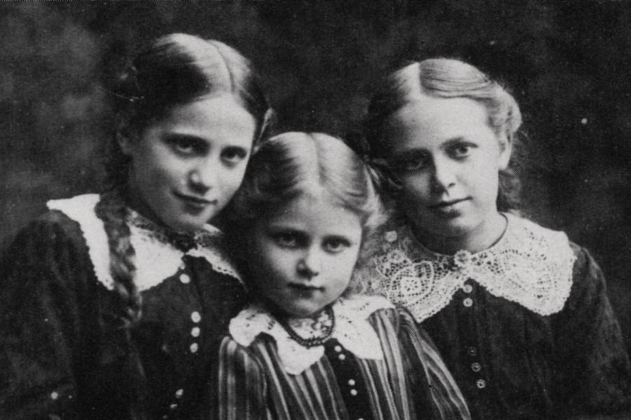 Lene, Trudel und Berta