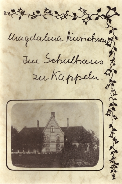 Magdalena Hinrichsen - Erinnerungen