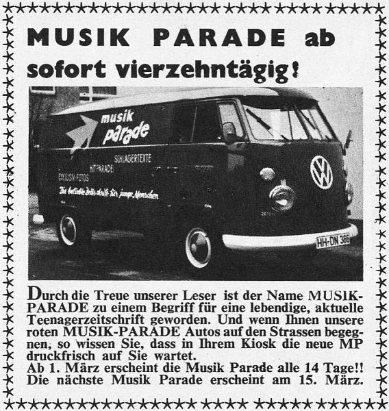 MUSIK PARADE Nr. 31 (März 1965)