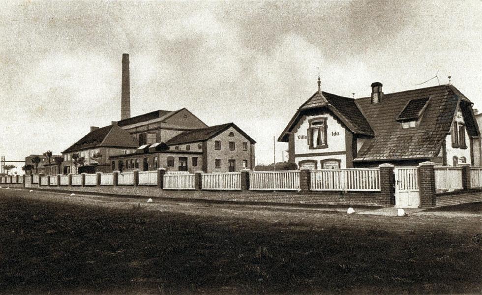 Kappeln - Milchtrocknungswerk (ca. 1920)