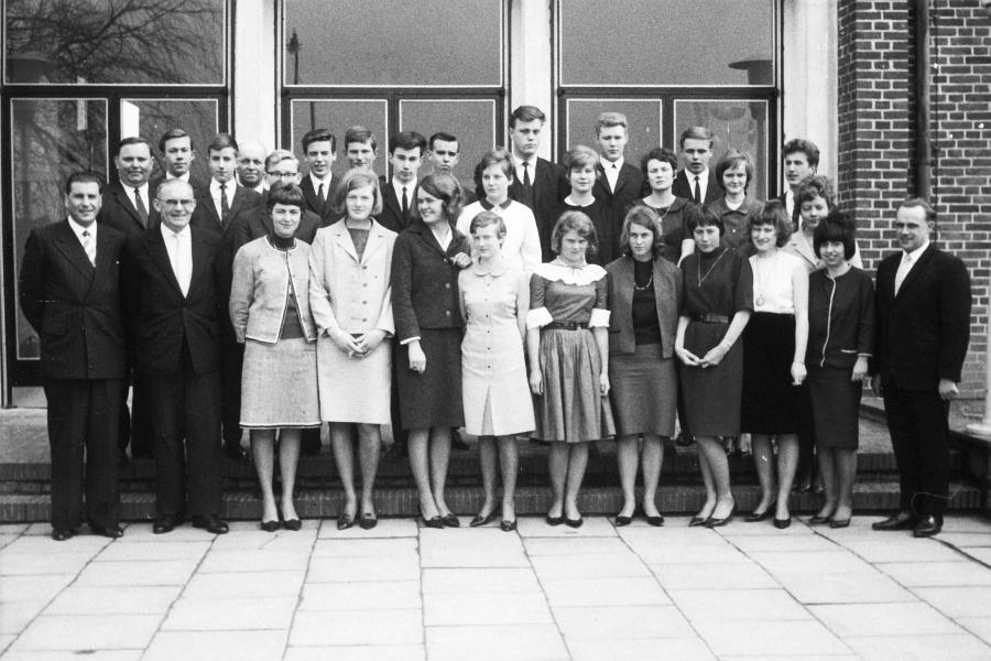 Mittelschule Kappeln – Abschlussklasse 10b - 1965