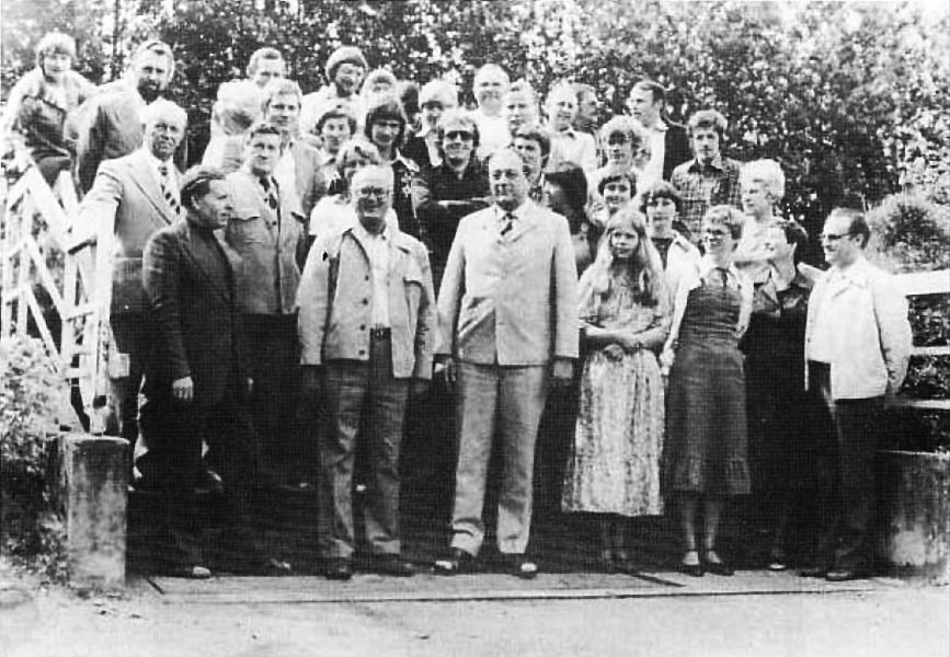 Realschule Kappeln - Lehrerkollegium 1977