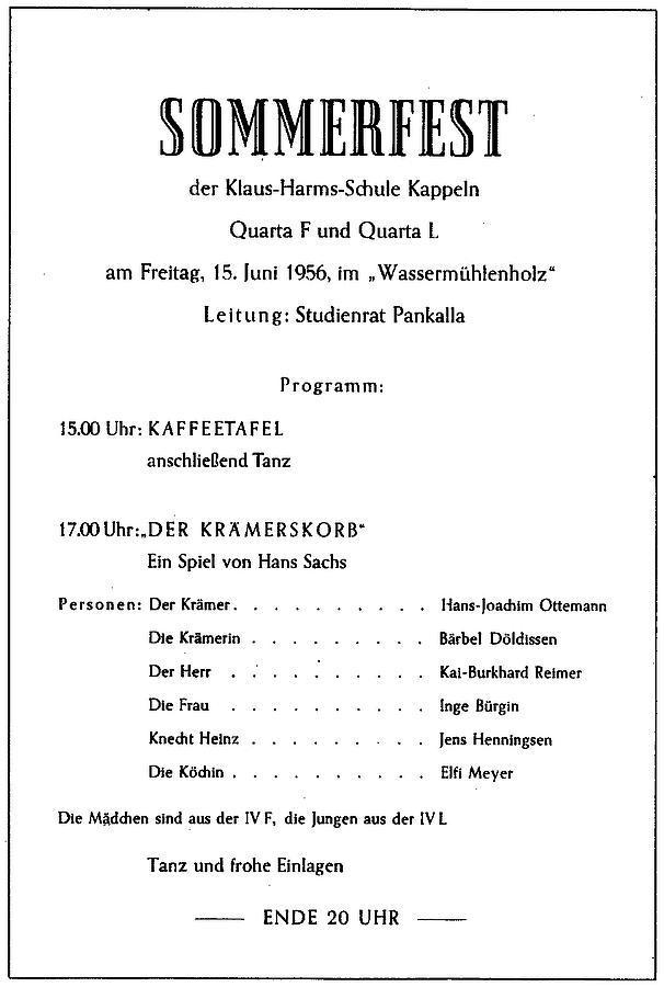 Der Rotstift - Nr. 1 - Juni 1956
