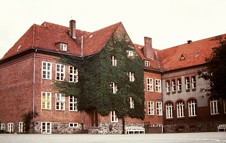 Kappeln - Klaus-Harms-Schule - Foto: Manfred Rakoschek (August 1968)