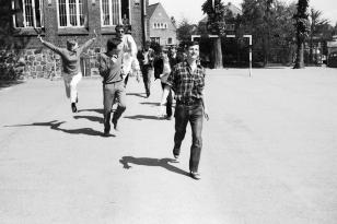 Klaus-Harms-Schule - Schulhof (1969)