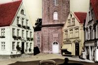 Kappeln - Rathausmarkt 7 - Schlachterei Hornig (1959)