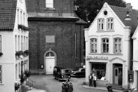 Kappeln - Rathausmarkt 7 - Schlachterei Hornig (etwa 1964)
