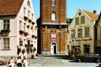 Kappeln - Rathausmarkt 7 - Fleischer-Fachgeschäft (um 1970)