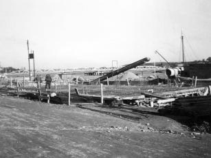 Kappeln - Sieck-Speicher - Fundament - Foto: Christian Hansen (1937)