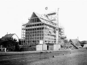 Kappeln - Sieck-Speicher - Richtfest - Foto: Christian Hansen (1938)