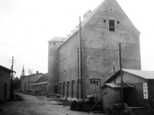Kappeln - Sieck-Speicher - Bauarbeiten - Foto: Christian Hansen (1939)