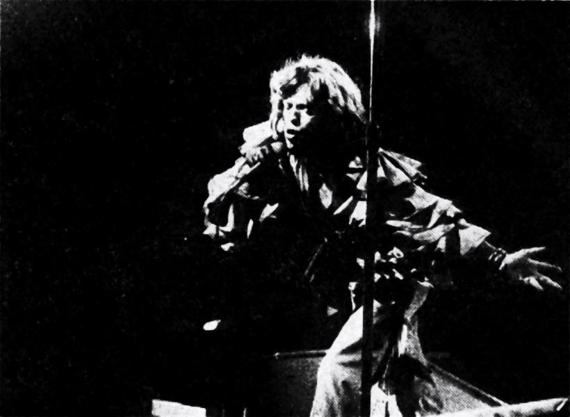 Mick Jagger, der Lead-Sänger der Rolling Stones, zeigte seinen Fans, daß er noch der Alte ist. Foto: Harder