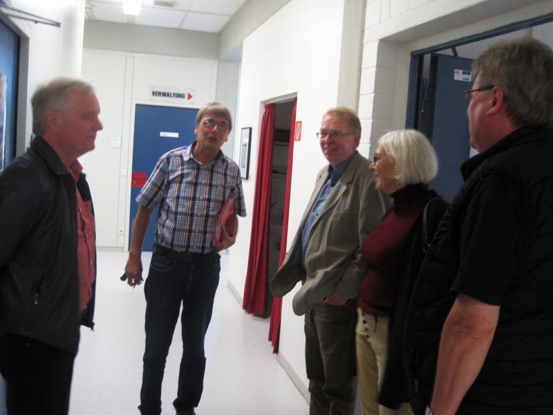 SZR-Treffen 2017 - KHS Hüholz - Vor dem Lehrerzimmer