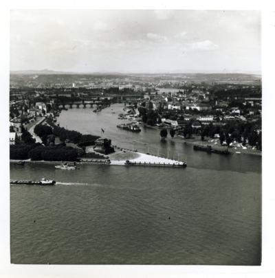 Deutsches Eck Koblenz 1965