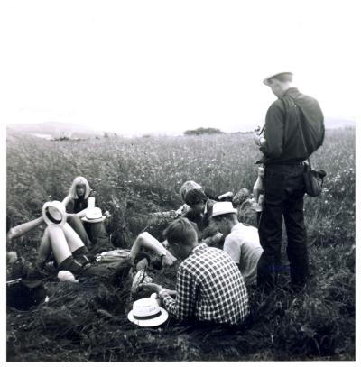 Rast in der Eifel 1965